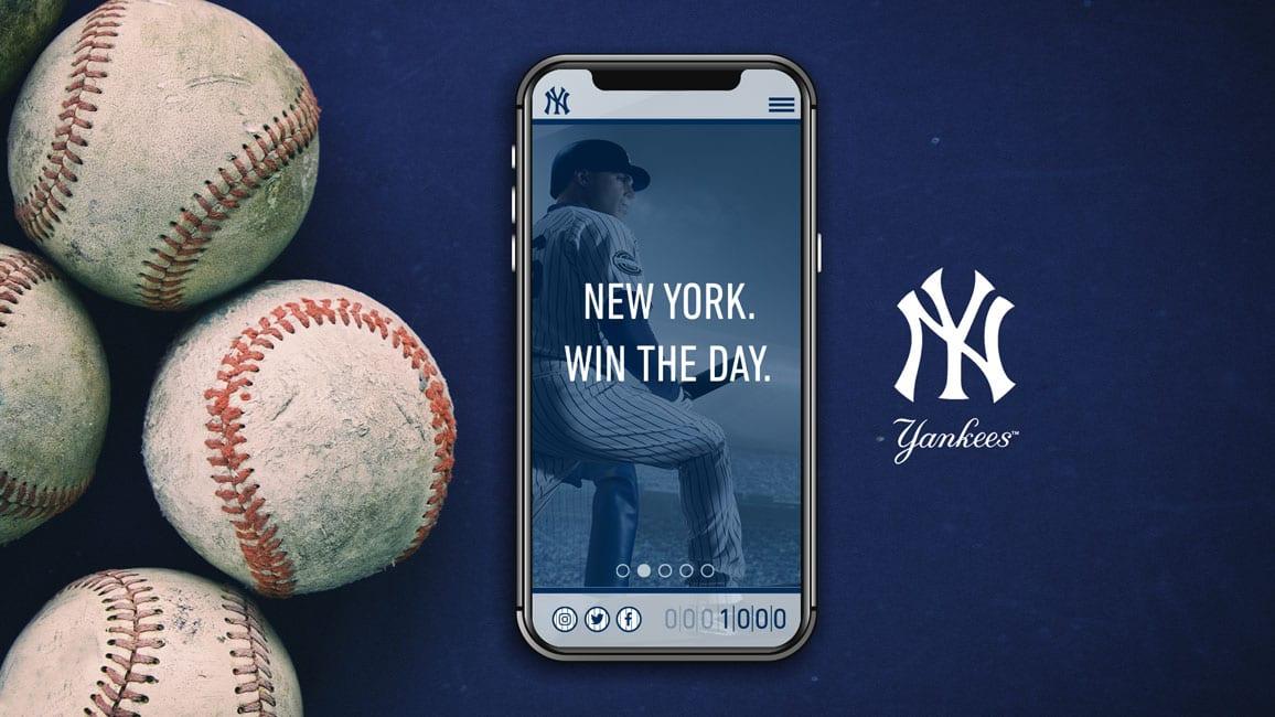 Image of yankees app